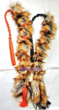 FAUX  FUR LONG BUNGEE TUGS